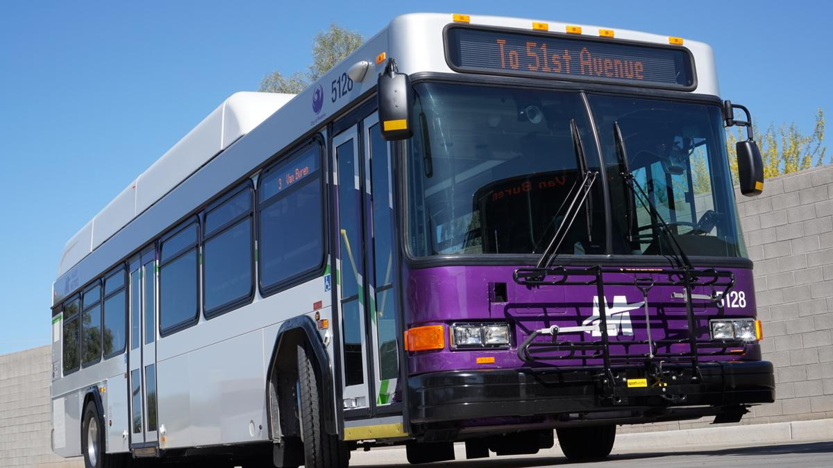 Metro Bus Cleaner : Phoenix deploying m in new enhanced natural gas