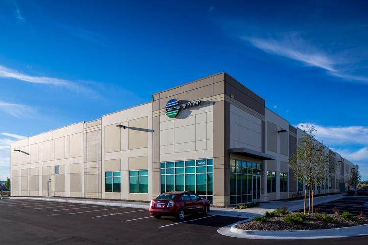 Community Power Corp.'s new headquarters at Compark Business Park in Douglas County.