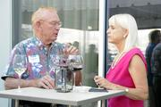Thomas Smyth of Integrated Economic Solutions and Beverly Harton of Furniture Plus Design.
