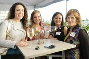 From left, Rebekah Ellis, Melinda Baker and Annette Waiau of Bishop & Company and Kathleen McKnight of ScentAi.
