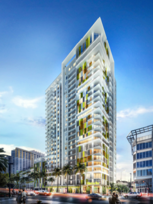 The 4 West Las Olas Tower In Fort Lauderdale Would Have 260 Multifamily Units
