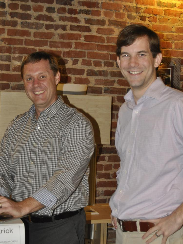 Matt Williamson, left, and Brad McGinity started Windsor Circle in 2011