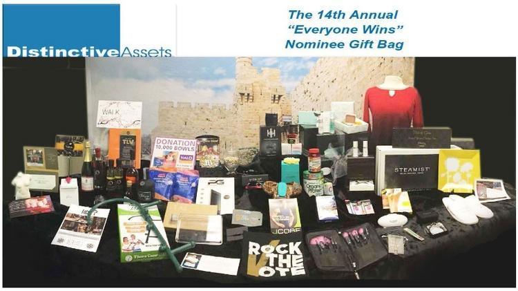 Distinctive Assets Said This Year S Oscars Gift Bag Was Valued At A Record 200 000 Per