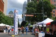 PNC Bank (NYSE:PNC) sponsored the Charlotte Pride 2013 Festival Zone, located along Tryon Street and Levine Avenue of the Arts. Bank of America (NYSE:BAC), whose headquarters can be seen in the background, and Wells Fargo (NYSE:WFC) were also major supporters of the event.