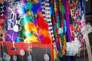 Colorful swag for sale at Charlotte Pride 2013.