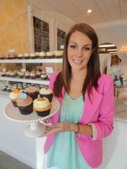 """Brittany Todd, owner of 2-year-old Rise Cupcakes in Friendswood, competed on The Food Network's """"Cupcake Wars"""" in September and placed second.   Click here for a slideshow of Todd's shop."""