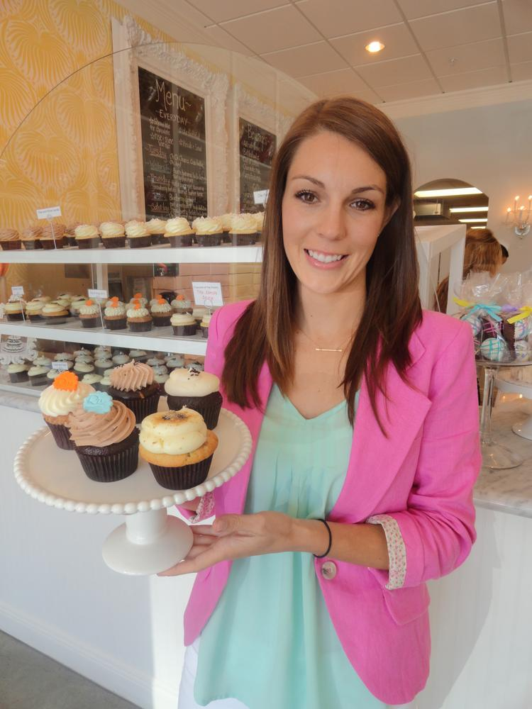 """Brittany Todd and her shop, Rise Cupcakes in Friendswood, will be featured on The Food Network's """"Cupcake Wars"""" Sept. 7.  Click through the slideshow for more images of Rise."""