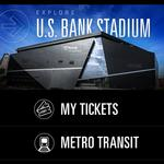 Vikings will implement and invest in U.S. Bank Stadium app
