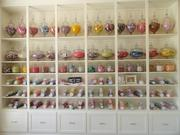 Confections wall at Rise Cupcakes in Friendswood