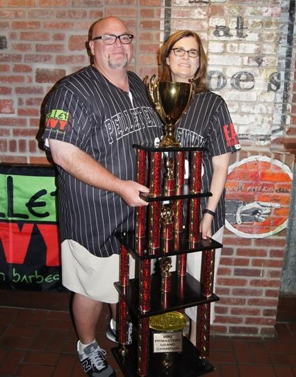 Rod Gray and his wife Sheri are taking home this trophy and $50,000 after Gray was named BBQ Pitmaster Grand Champion following Sunday's season finale.