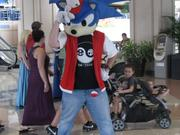 Sonic the Hedgehog makes an appearance