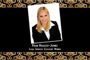 Francoise Haasch-Jones, Fran Haasch Law Group Legal Services Category Winner Why Fran is a big deal: Owner, president and attorney Fran Hassch-Jones began her firm 12 years ago in her parents' home and has grown her business to include a staff of nearly 30 people.