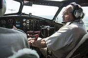 George Daubner is a pilot of the B-17 and vice president of the EAA in Oshkosh, which owns the plane.