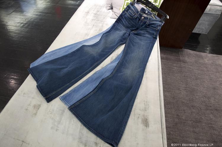 Greensboro-based apparel maker VF Corp. plans to establish three Global Innovation Centers to focus on product innovations in technical apparel, footwear and jeans. Pictured are jeans from VF's 7 for All Mankind brand.
