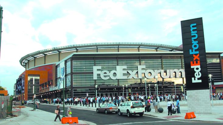 While Birmingham was debating the dome, Memphis was building the FedEx Forum.