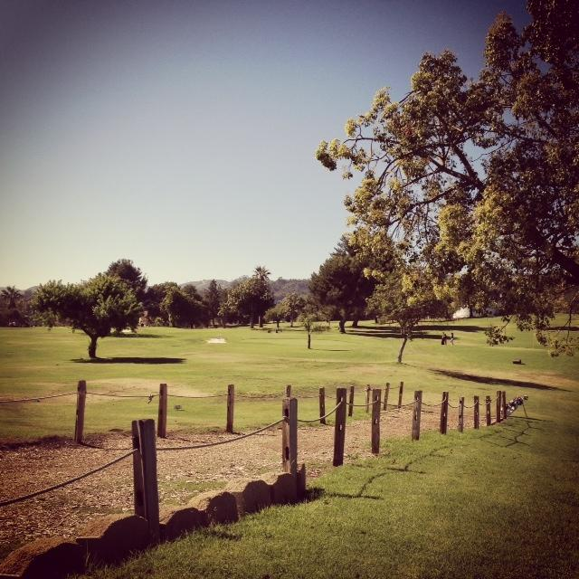 It's been golf weather all summer long in Los Angeles