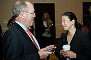 Merrill Lynch's Merril Pyes and Bomi Song were in attendance at the Boston Business Journal's Advancing Women as Merrill Lynch was a sponsoring partner of the event.