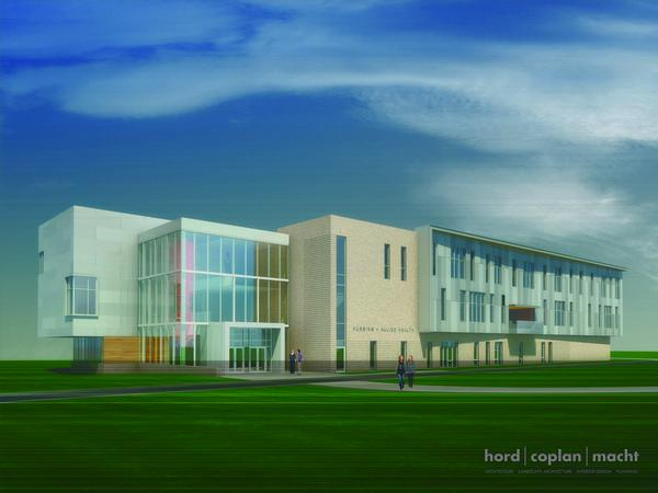Harford Community College's new health building will include the latest technology for students.