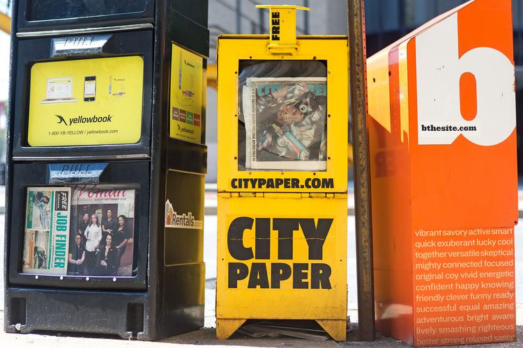 Eight full-time City Paper employees have been laid off since the alternative newsweekly's announced sale to the Baltimore Sun.
