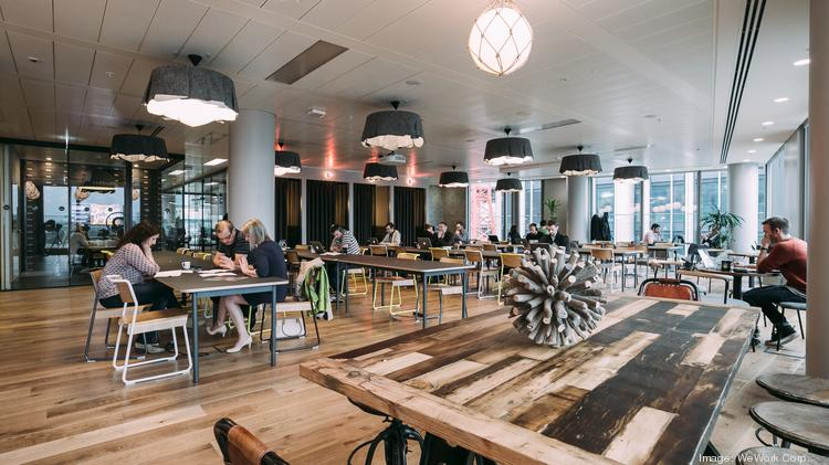 Ordinaire Inside The WeWork Shared Office Space In London.