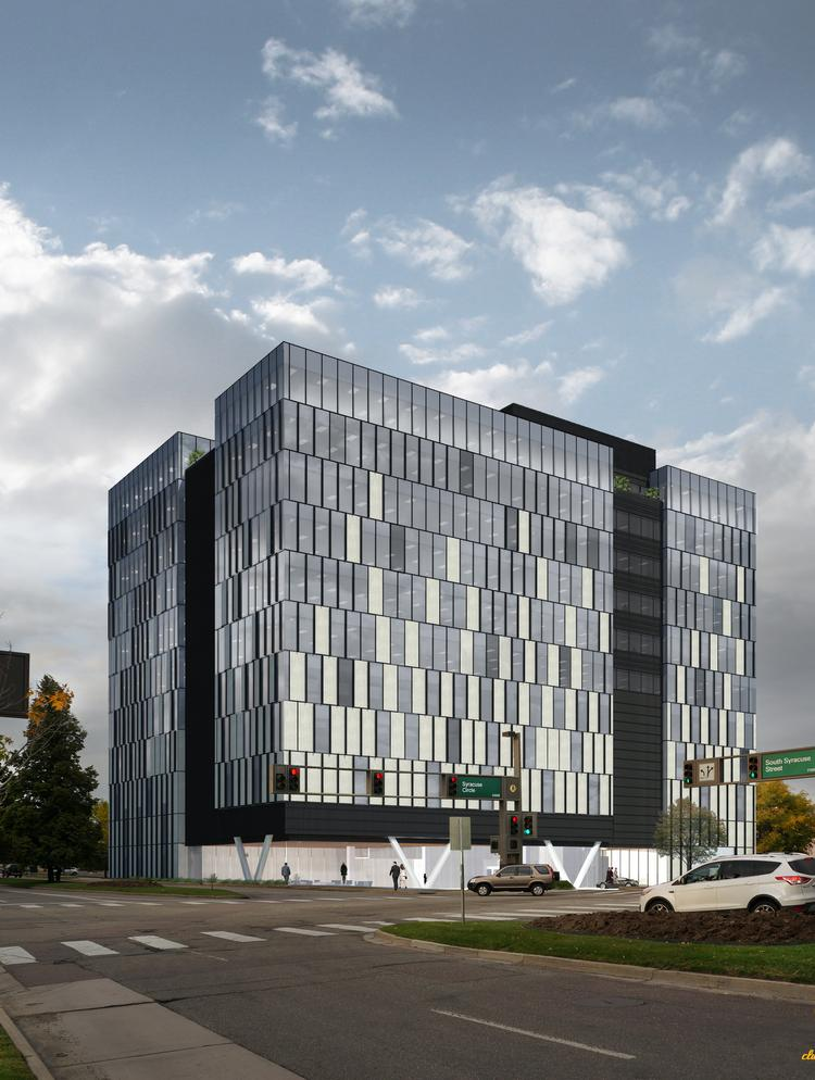 12 story office building coming to the denver tech center for Building an estate