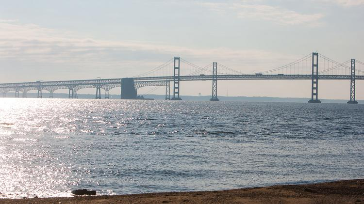 The Chesapeake Bay Bridge will be a major source of traffic during the Memorial Day holiday weekend.