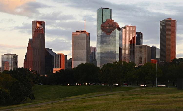 The Houston-Brazoria metropolitan area has the third-largest Hispanic population in the U.S., at 2,105,000, according to a recently released report by the Pew Research Center.  With a Hispanic population of 1,731,000, Harris County has the second-largest Hispanic population among the 60 largest counties in the U.S.