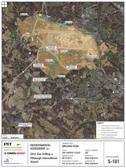 The Consol Energy Inc. (NYSE: CNX) plan for drilling at Pittsburgh International Airport on land owned by the Allegheny County Airport Authority.
