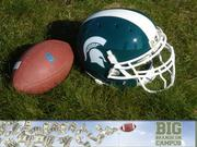 Michigan State University  Supplier: Nike Equipment (2013-14): $1.5 million Cash (2013-14): $100,000  The deal: Michigan State signed an all-sport deal with Nike in 2009 that extends through 2016. The deal will net the university $11.5 million in equipment and $775,000 in cash.  Fun facts: Michigan State basketball coach Tom Izzo has a separate deal with Nike. Nike pays Izzo $400,000 per year. He gets $25,000 in merchandise annually for personal and family use and $35,000 in Nike equipment for basketball clinics. His assistant coaches get $10,000 in Nike merchandise. Nike also paid Izzo a $50,000 bonus for signing the seven-year contract in 2010.