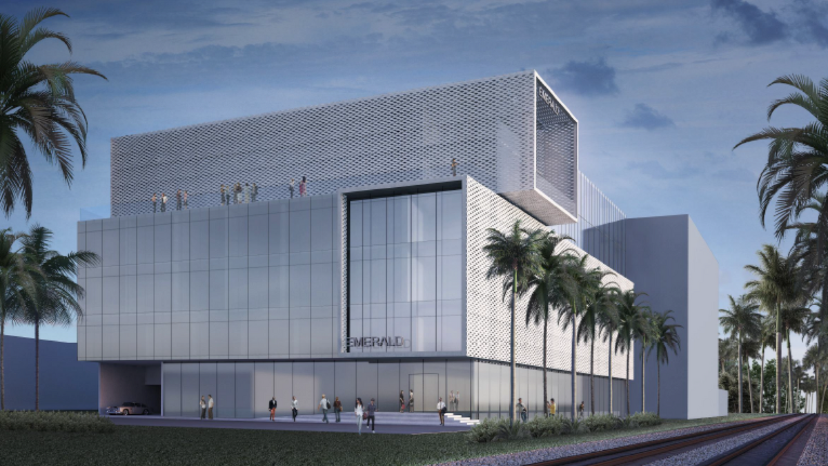Chad oppenheim designed office building proposed near aventura south florida business journal for Miami gardens building department