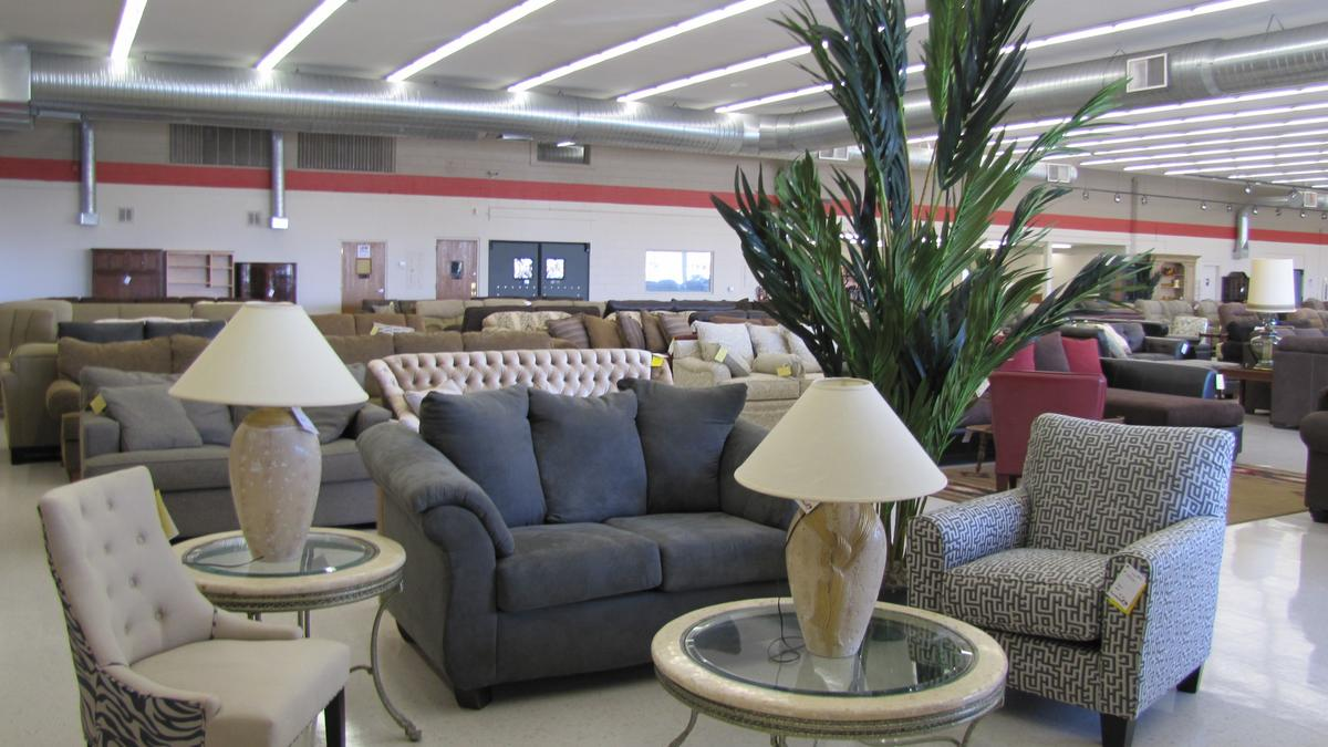 FIRST LOOK Furniture with a Heart thirft store opens