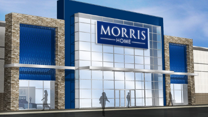 A Rendering Shows The New Morris Home Store Coming Near Easton Towne Center  In Columbus.