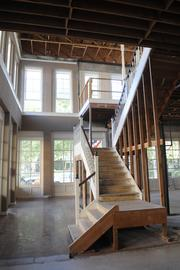 Real estate entrepreneur Nissim Lanyadoo's plans  call for redesigning the interiors of his Old Sacramento property to put in a central staircase, and removing anything added since the building, which dates to the 1850s, first went up.