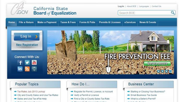 The California Board of Equalization launched a revamped website this week that board officials say will provide a better experience for users.