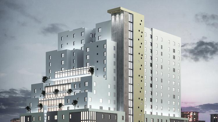 A Rendering Of The Skyloft Student Housing Project Which Will Be Built Near 23rd And