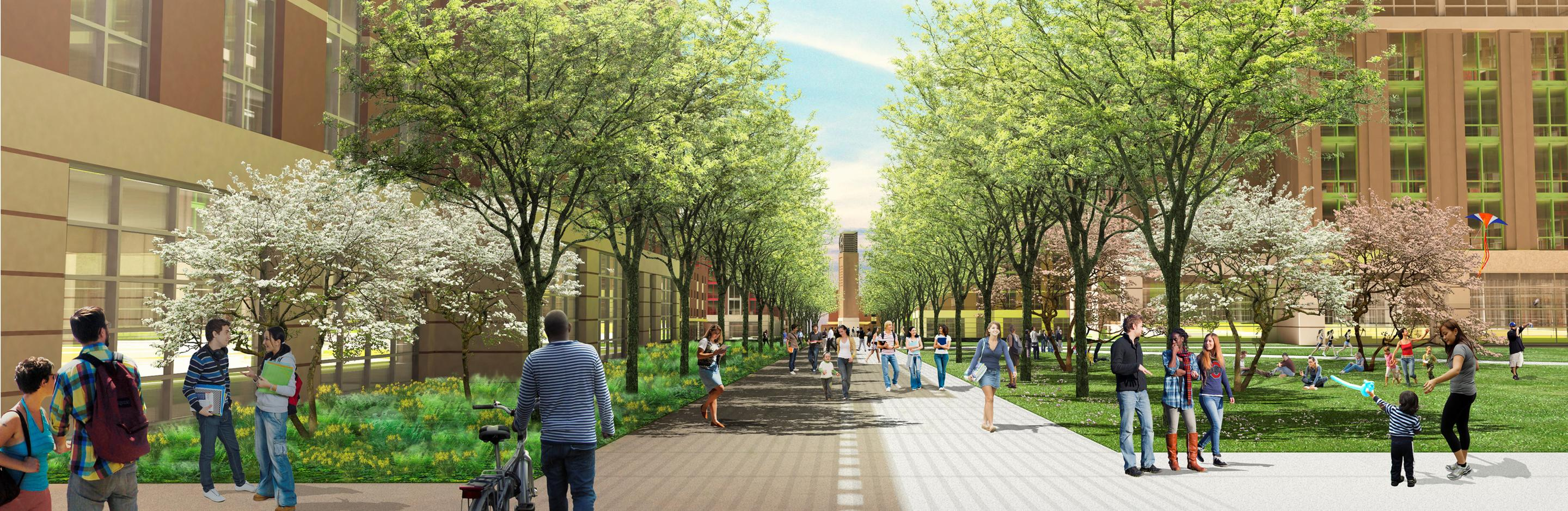 osu north residential district transformation project – new