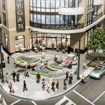 Plaza or no plaza? That's the tough question as the corner of 18th and Columbia is redeveloped