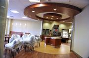 This is the staff and visitor cafeteria.