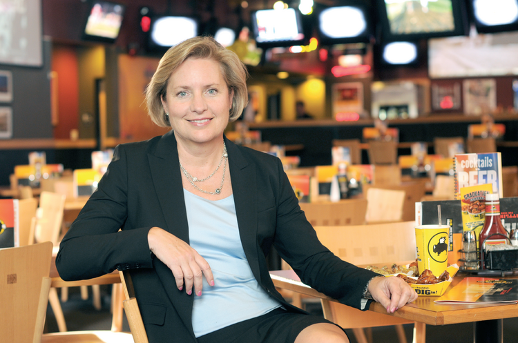 "Buffalo Wild Wings CEO Sally Smith thinks diners in the Philippines will flock to the restaurant when it opens locations there. ""The Philippines have passionate sports fans, who we believe will love the great atmosphere at Buffalo Wild Wings,"" she said."