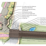 Work begins on greenway in Wake Forest Innovation Quarter