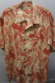 Burn Notice red print shirt