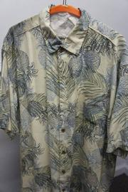 Burn Notice foliage Hawaiian print