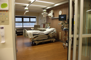 Patient rooms at Legacy's new cardiovascular ICU provide space, privacy and natural light for patients and families.