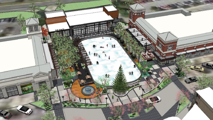 A Seasonal Ice Skating Rink Is Being Planned For The Avenue At White Marsh