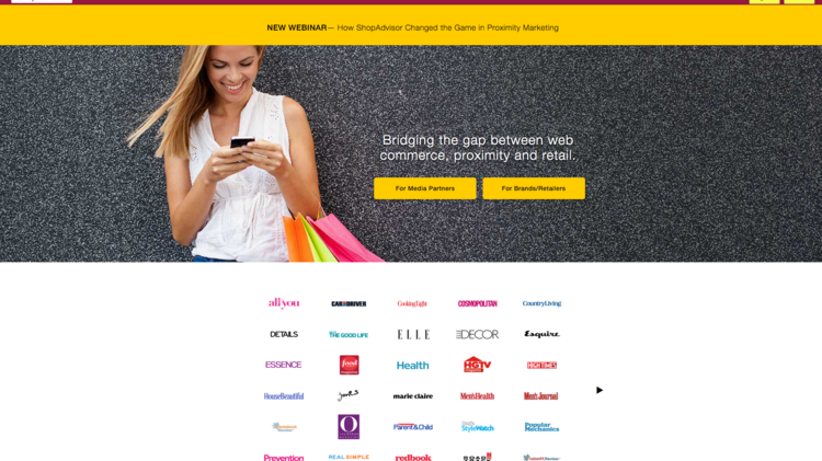 ShopAdvisor, a Concord-based company that develops marketing technology that targets shoppers on their mobile phones, has acquired Silicon Valley-based Retailigence.