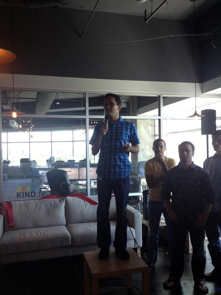 Gregg Pollack, one of Starter Studios co-founders, said you don't have to go to Silicon Valley to find good startups.