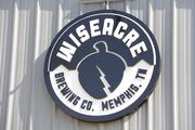 The sign outside Wiseacre Brewing Company