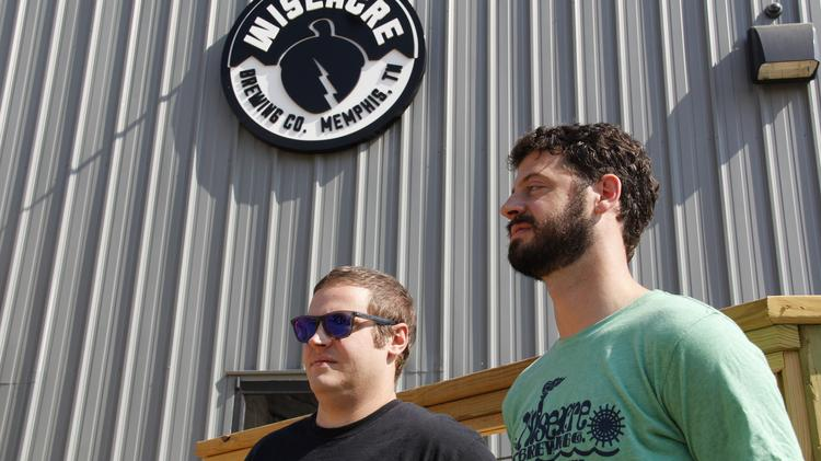 Wiseacre Brewing Co. owners Davin and Kellan Bartosch.