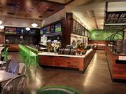 Wahlburgers interior in Hingham, Mass. The restaurant company backed Donnie and Mark Wahlberg is opening its second location in Toronto.