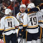 Preds fall to the Ducks in first home playoff game